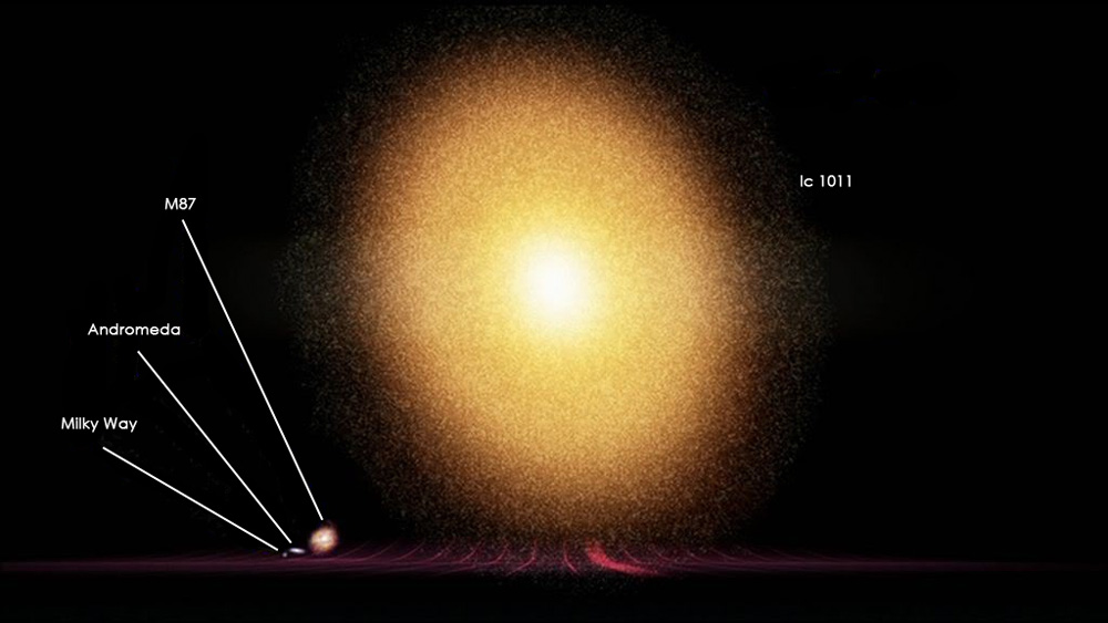 milky way compared to andromeda galaxy - photo #22